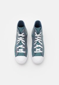 Converse - CHUCK TAYLOR ALL STAR RENEW UNISEX - Baskets montantes - lakeside blue/powder green/white - 3
