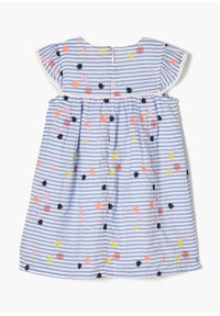 s.Oliver - Day dress - light blue stripes & flowers - 1