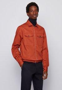 BOSS - LAWSON_ZT - Light jacket - open orange - 0
