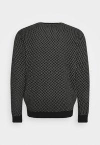 Blend - Stickad tröja - black - 7