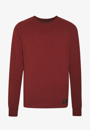 BASIS CREW - Sweater - red oxide