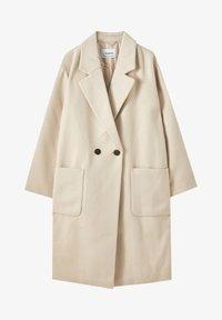 PULL&BEAR - Zimní kabát - beige - 5