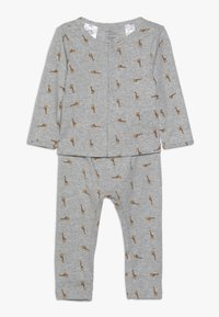 Carter's - BOY BABY SET - Leggings - Trousers - teal - 0