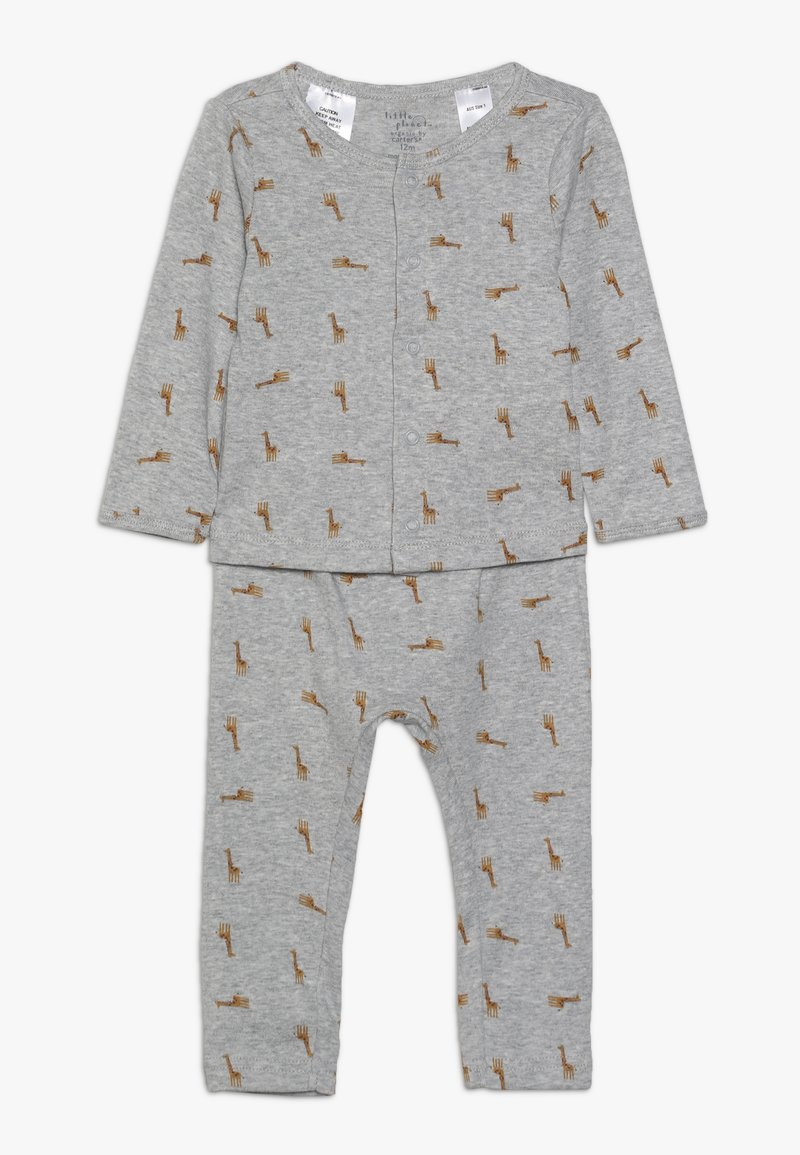 Carter's - BOY BABY SET - Leggings - Trousers - teal
