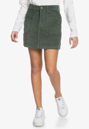 A-line skirt - thyme