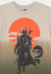GAP - BOY STAR WARS - T-shirt con stampa - green - 2