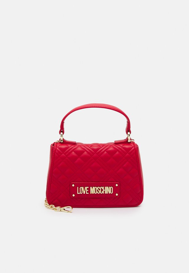 TOP HANDLE QUILTED CROSS BODY - Sac à main - rosso