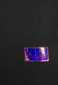 Nike Performance - PARIS ST GERMAIN WORDMARK TEE - Club wear - black - 4