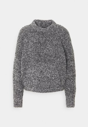 PCDEEPY O NECK - Jumper - light grey melange