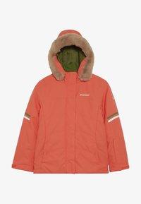 Ziener - ATHILDA JUNIOR - Ski jacket - coral - 4