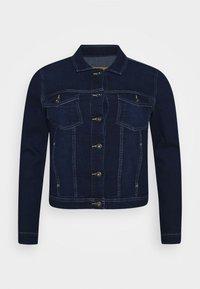 ONLY Carmakoma - CARWESPA LIFE JACKET - Denim jacket - dark blue denim - 4