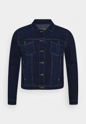 CARWESPA LIFE JACKET - Denim jacket - dark blue denim
