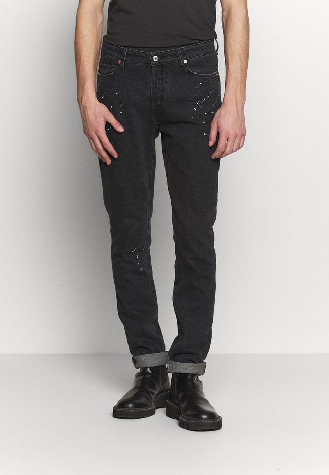 DAVID PAINT - Jeans slim fit - noir