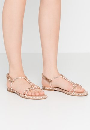 QILINNA - Sandals - rose gold