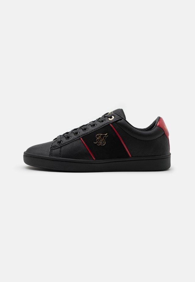 ELITE - Sneakersy niskie - black/red