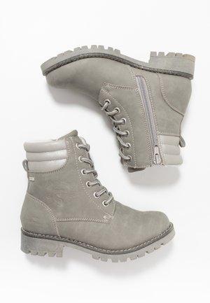 Botines con cordones - grey