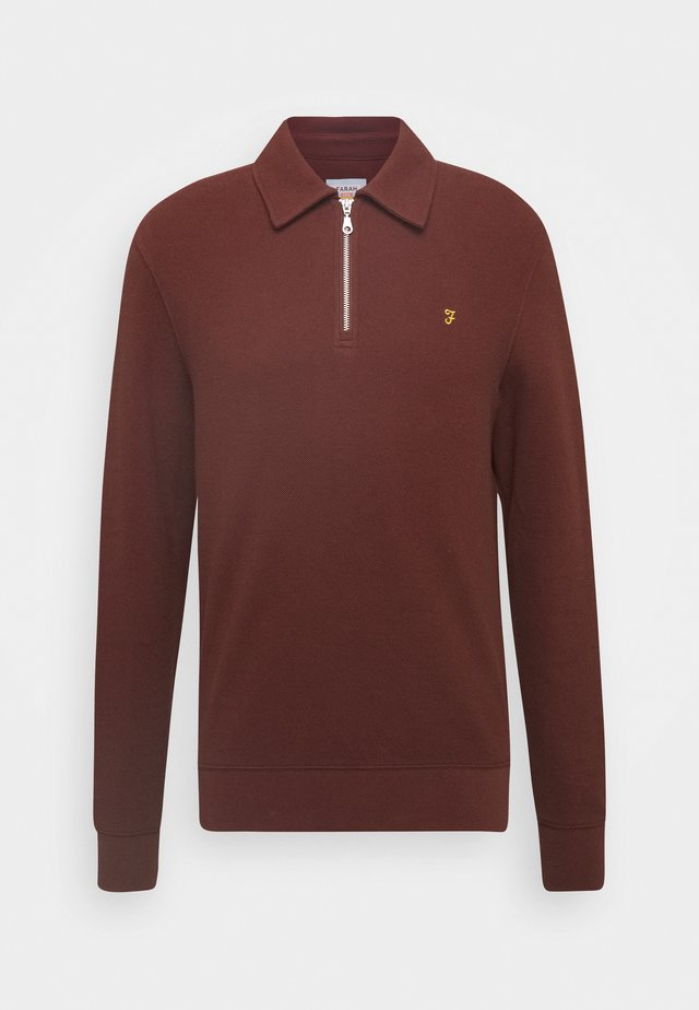 SPON - Poloshirts - burgundy