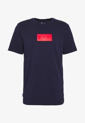 FRANKREICH TEE TRAVEL - T-shirt med print - blackened blue