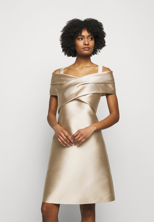 DRESS - Cocktailkjoler / festkjoler - beige