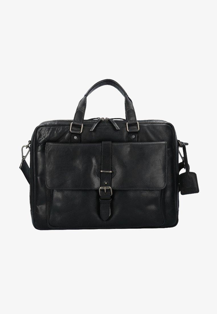 Leonhard Heyden - ROMA - Briefcase - black
