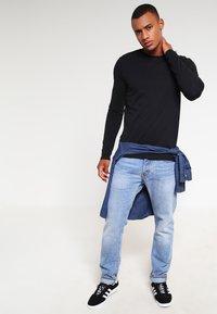 YOURTURN - Long sleeved top - black - 1