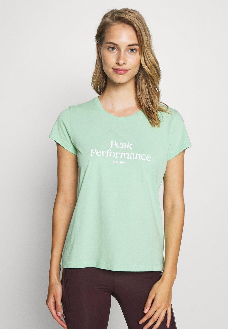 Peak Performance - ORIGINAL TEE - T-shirt con stampa - pale horizon