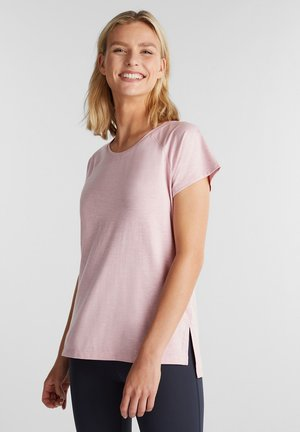 MIT E-DRY - T-shirt basic - light pink