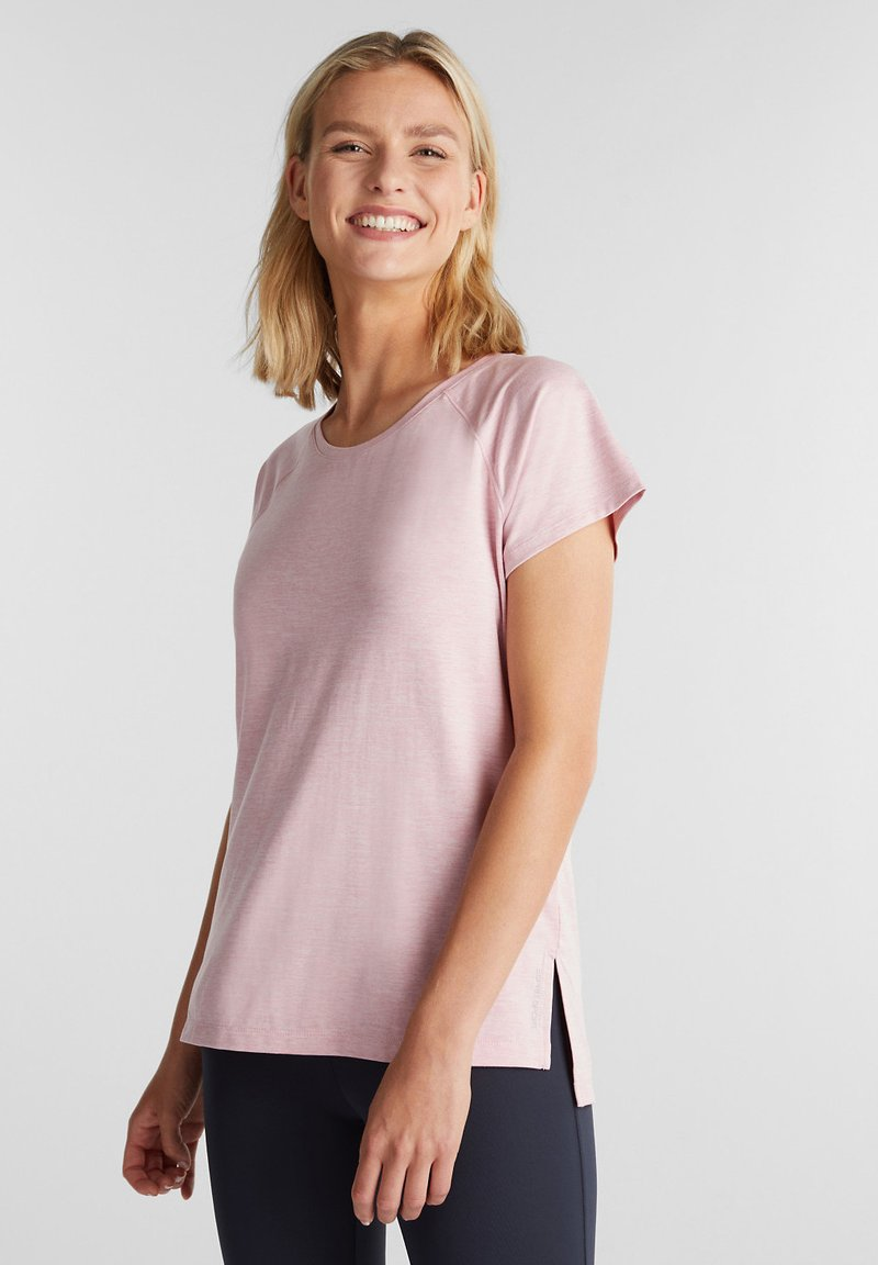 Esprit Sports - MIT E-DRY - Sports shirt - light pink