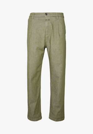 BOSTON RELAXED - Pantalon classique - soft khaki