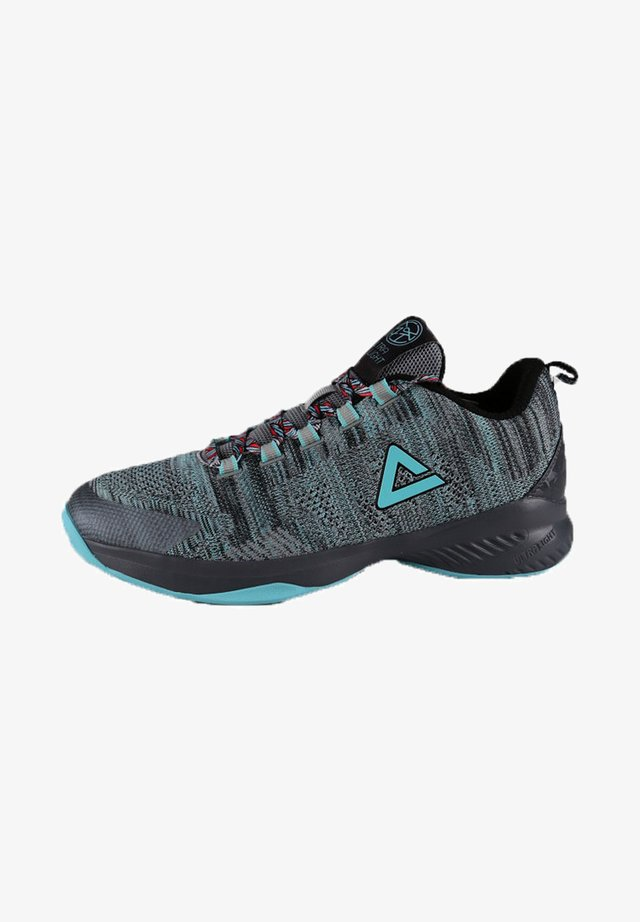 Basketball shoes - silber - grau
