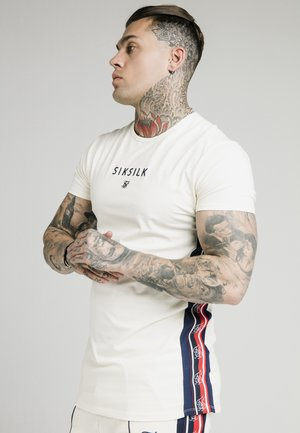 RETRO ESSENTIAL TAPE TEE - T-shirt con stampa - off-white