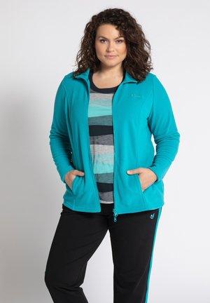 Fleece jacket - türkis