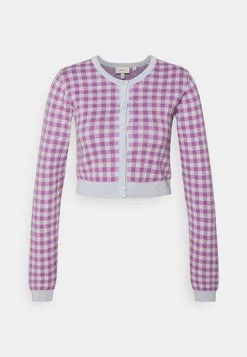 MEADOW - Cardigan - pink/blue