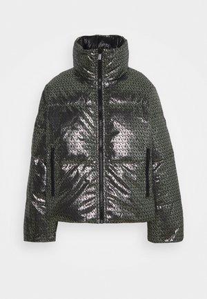Dunjakke - black/silver