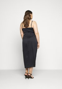 Forever New Curve - HOLLY COWL NECK MIDI DRESS - Cocktail dress / Party dress - navy - 2