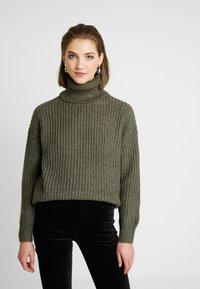 Even&Odd - Sweter - khaki - 0