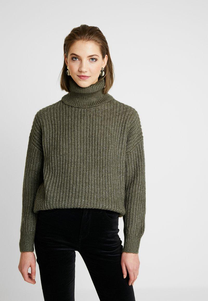 Even&Odd - Sweter - khaki