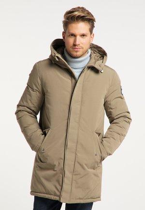 Płaszcz zimowy - grau oliv