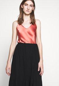 Bruuns Bazaar - CECILIE SKIRT - A-line skirt - black - 3