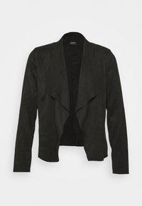 ONLY - ONLFLEUR JACKET - Faux leather jacket - black - 4