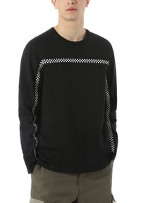 Vans - MN CHECK THROUGH LS - Long sleeved top - black - 0