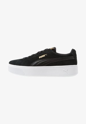 VIKKY STACKED - Sneakers laag - black/white