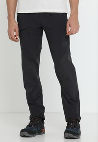Mammut - COURMAYEUR PANTS MEN - Friluftsbyxor - black - 0