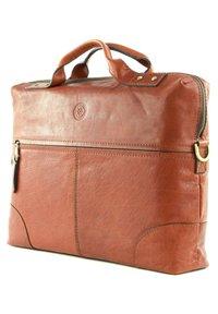 Saddler - Briefcase - midbrown - 2