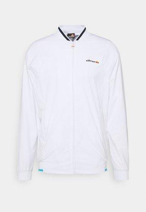 LITORALE TRACK - Sportovní bunda - white