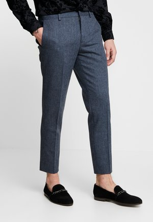 TAPERED TROUSER - Tygbyxor - mid blue