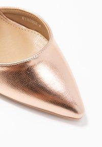 BEBO - RIHANNA - High Heel Pumps - rose gold - 2