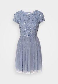 Lace & Beads Petite - NESSIA MIDI - Koktejlové šaty/ šaty na párty - blue - 3
