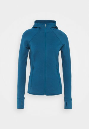 STRETCH - Fleece jacket - teal