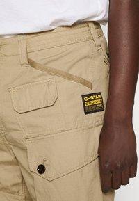 G-Star - JUNGLE CARGO - Shorts - vintage ripstop - sahara - 5